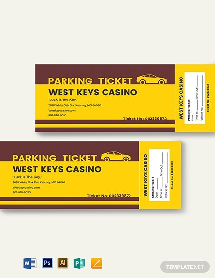 penalty parking ticket template 2