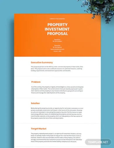 property investment proposal template1