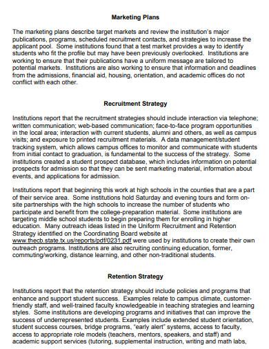 recruitment agency retention marketing plan