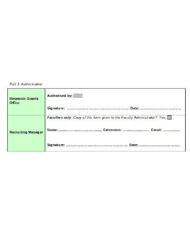 recruitment authorisation form in doc