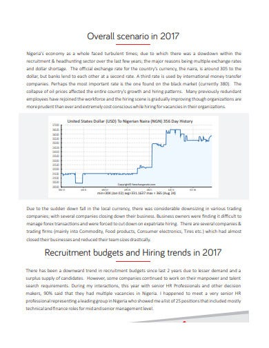 recruitment budgets and hiring trends