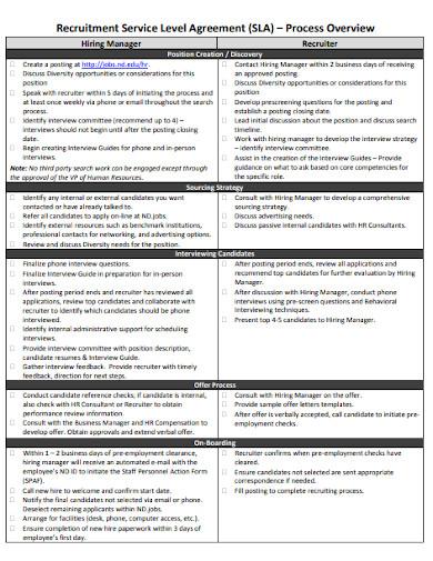 recruitment service level agreement template1