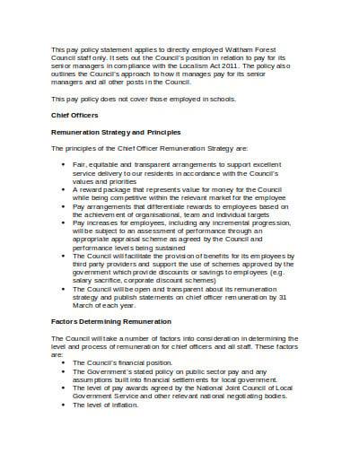 remuneration strategy principles