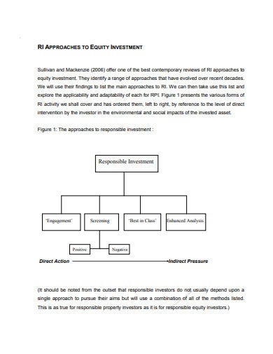 responsible property investment analysis template