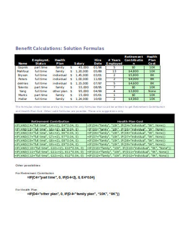 retirement income calculator example