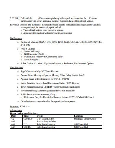 retirement patry memo template