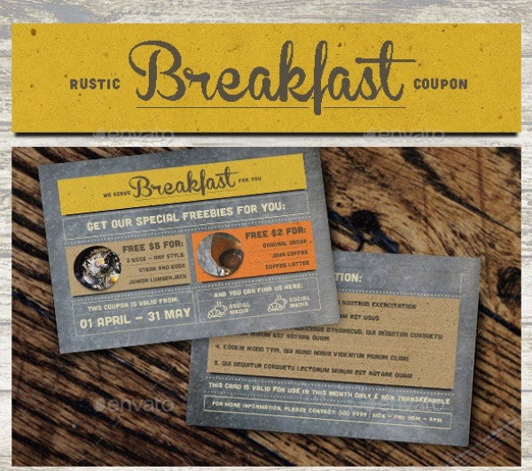 rustic coupon card image preview
