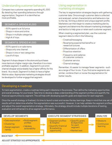 sample segmentation strategies for retailers