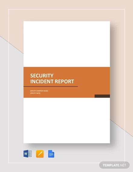 security incident report template1