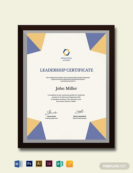 shooting certificate template