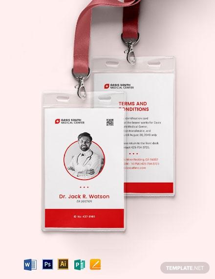 simple emergency id card 1