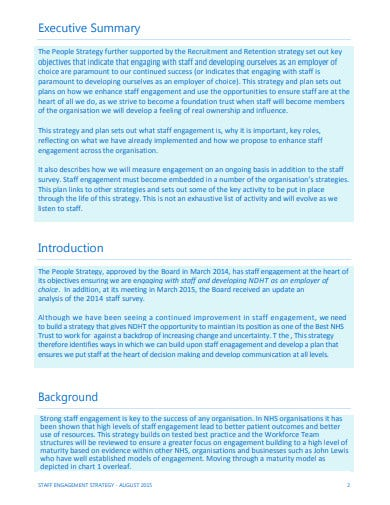 staff engagement strategy template in pdf