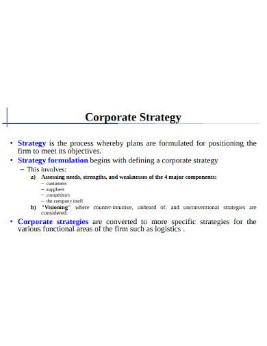 supply chain strategy and planning
