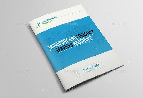transport and logistics services brochure