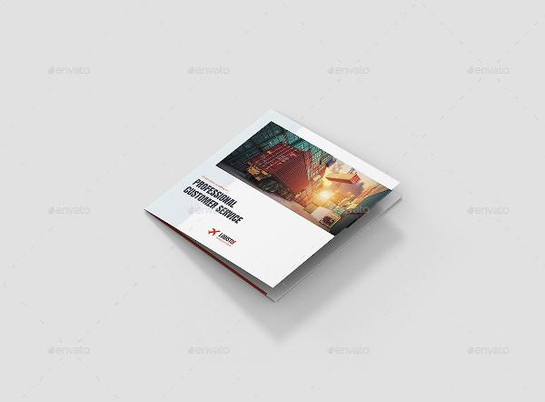 transport logistic brochure template