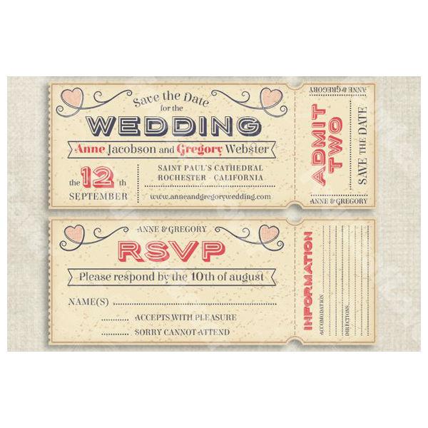 vector editable wedding invites