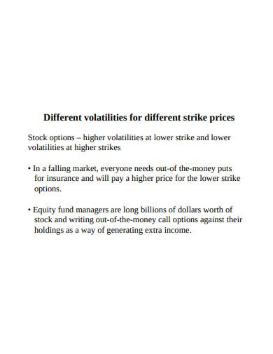 volatility trading and volatility derivatives