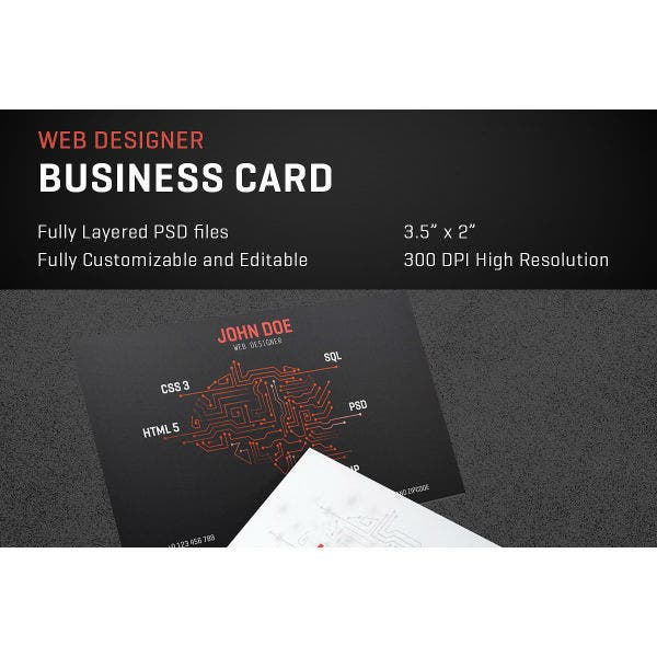 10 Designer Business Card In Illustrator Ms Word Pages