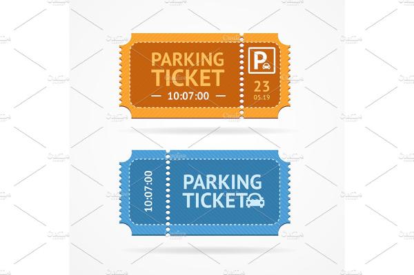 parking ticket iconcm
