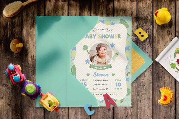preview image 4 baby shower invitation