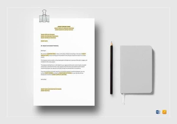 project investment proposal besttemplates