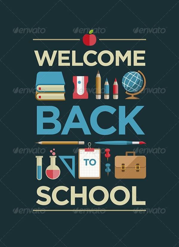 schoolflatposter 04590