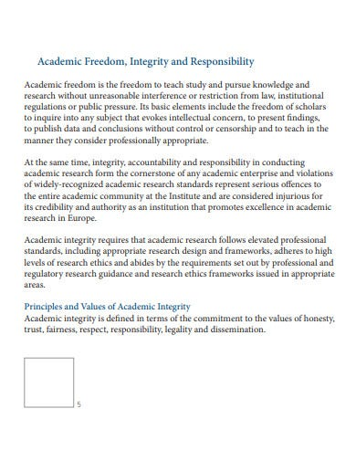 academic freedom research ethics0a