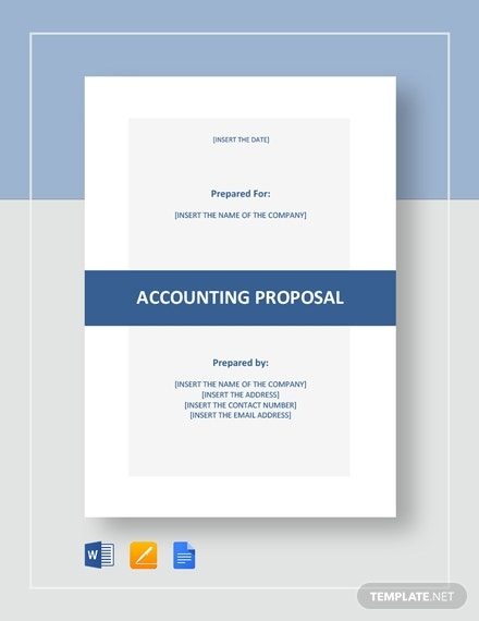 accounting proposal 21