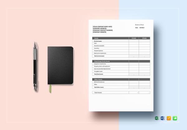 balance sheet word excel 600x4202