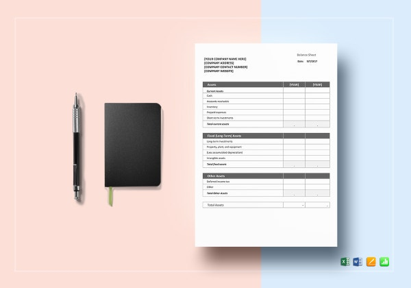 balance sheet word excel 600x4203