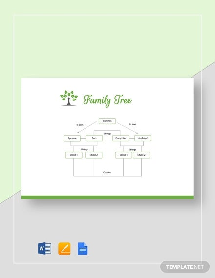 basic family tree template