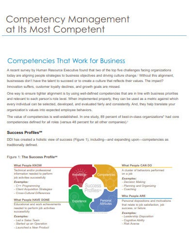 business competency management1
