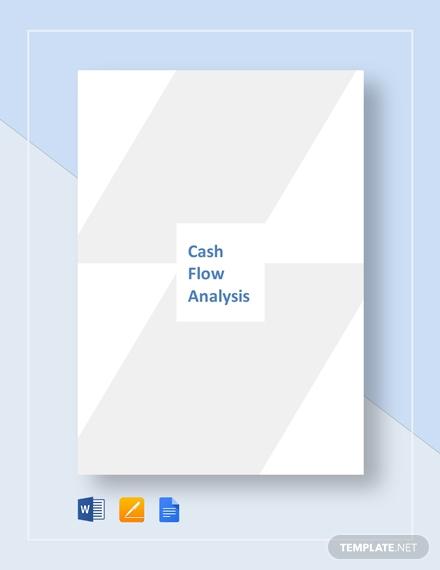 cash flow analysis analysis1