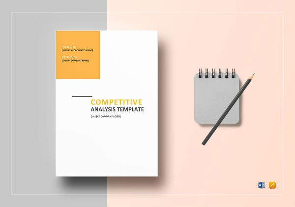 competitive analysis template mockup1