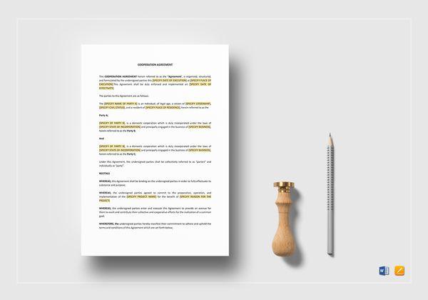 cooperation agreement mockup 600x420