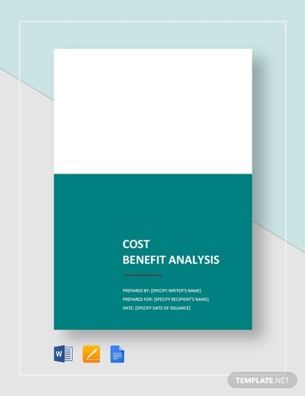 cost benefit analysis1