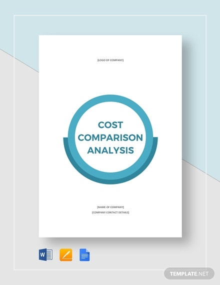 cost comparison analysis 4401