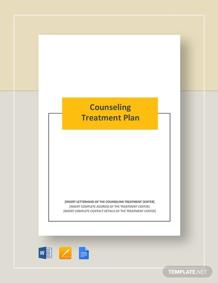 counseling treatment plan 2
