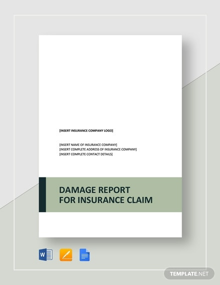damage report for insurance