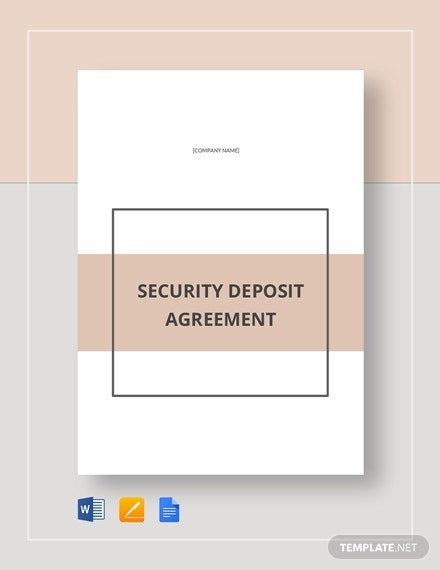 deposit agreement 1