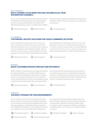 distribution contract logistics