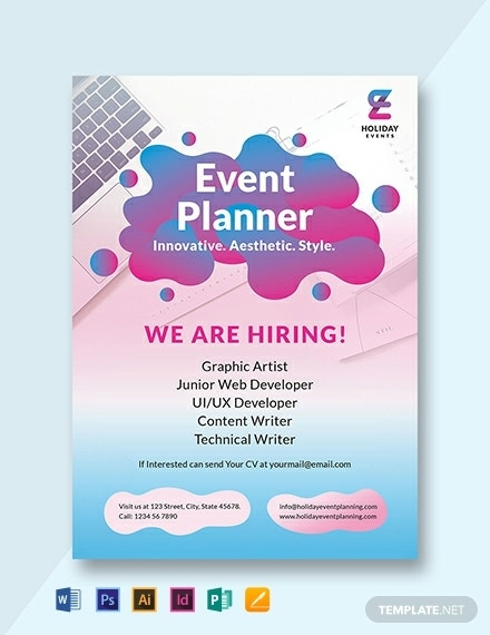 event planner announcement template 440x570 1