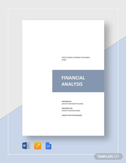 financial analysis1