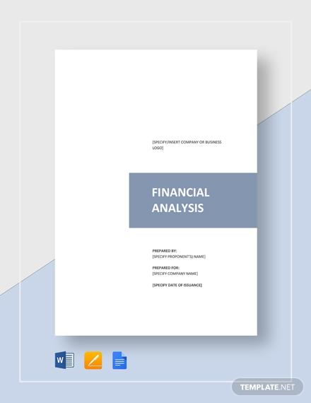 financial analysis3