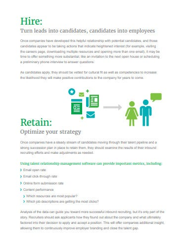 financial inbound recruiting strategy