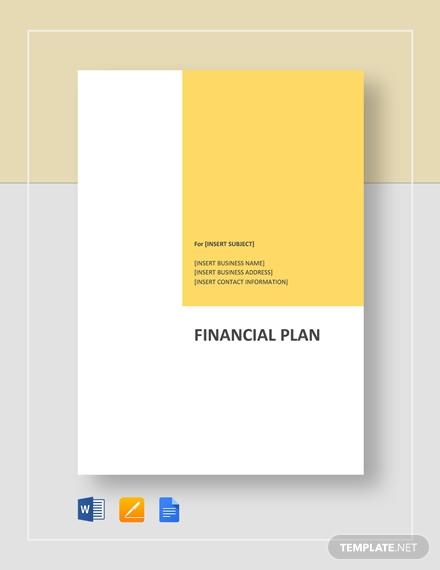 financial plan1
