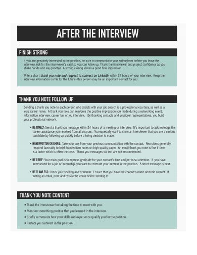 follow up email after interview example