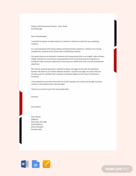 Resume Email Cover Letter from images.template.net