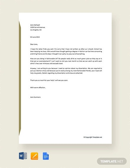 Free-Informal-Letter-Sample Sample Informal Letter Template on business proposal,