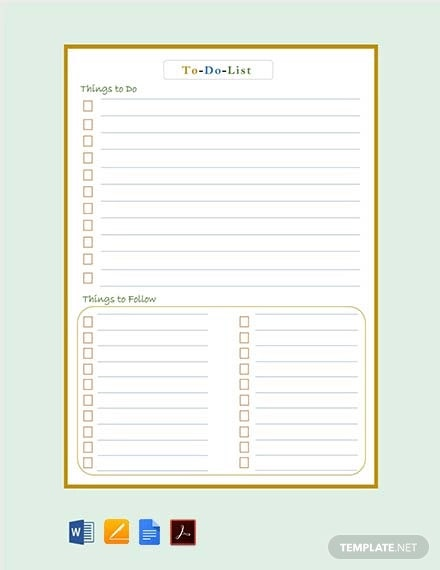 Daily Task List Template Word from images.template.net